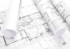 Piano architettonico immagini stock libere da diritti