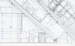 Piano architettonico fotografie stock libere da diritti