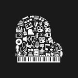 Piano art Royalty Free Stock Images