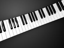 Piano background Royalty Free Stock Photos