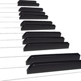Piano background Royalty Free Stock Image