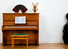 Piano, bandoneon and chello Royalty Free Stock Photography
