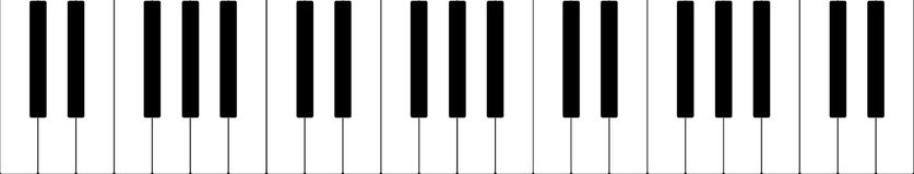 Piano banner stock images