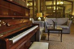 Piano at the bar Royalty Free Stock Images