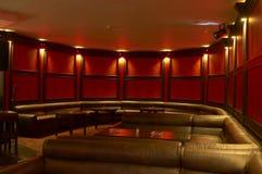 Piano bar. And mega lights Royalty Free Stock Photography
