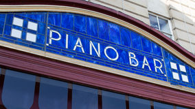 Piano Bar Royalty Free Stock Photography