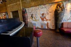Piano bar Royalty Free Stock Image