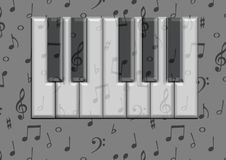 Piano board Royalty Free Stock Images