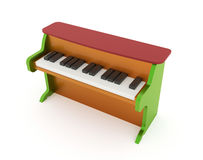 Piano for child Stock Photos