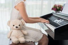 Piano class Stock Image
