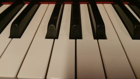 Piano. Claviature of piano Royalty Free Stock Photos