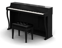 Piano (clipping path included) Royalty Free Stock Image