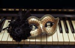 Piano close up Stock Image