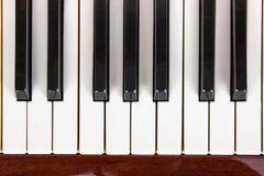 Piano close up, piano claps. Background. Piano close up, piano claps. black and white Royalty Free Stock Photo
