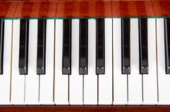 Piano close up, piano claps. Background. Piano close up, piano claps. black and white Stock Photos
