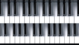 Piano closeup Royalty Free Stock Images