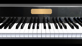 Piano closeup Royalty Free Stock Photos
