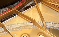 Piano con poco martillo y secuencias Fotos de archivo
