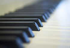 Piano concert keyboard Royalty Free Stock Photo
