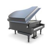 piano 3d Royaltyfri Foto