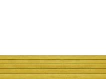 Piano d'appoggio di legno Immagini Stock