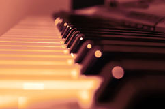 Piano d'instrument musical photos stock