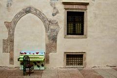 Piano dans Trento Photos libres de droits