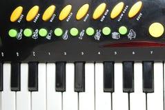 Piano das crianças Foto de Stock Royalty Free