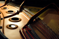 Piano de cauda Imagens de Stock Royalty Free