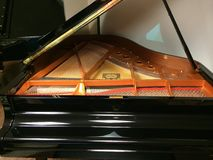 Piano de cauda do bebê Fotos de Stock