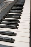 Piano de clavier Photo libre de droits
