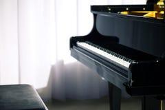 Piano de concerto clássico Imagens de Stock Royalty Free