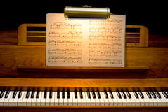 Piano de cru Photo stock