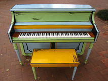 Piano de Fansy au parc Images stock