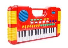 Piano de jouet d'enfants Photographie stock libre de droits