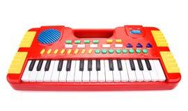 Piano del juguete de los niños Fotografía de archivo libre de regalías