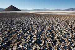Piano del sale di Maricunga, Cile immagini stock libere da diritti
