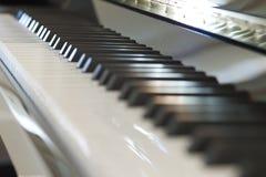 Piano del teclado Imágenes de archivo libres de regalías