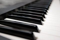 Piano del teclado Fotografía de archivo