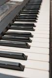 Piano del teclado Foto de archivo libre de regalías