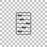 Piano dell'icona dell'abaco royalty illustrazione gratis