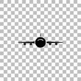 Piano dell'icona degli aerei illustrazione vettoriale