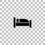 Piano dell'icona di sonno royalty illustrazione gratis