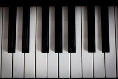 Piano. Detail pictures of simple piano tuts Stock Image