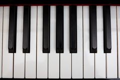 Piano 2. Detail pictures of simple piano tuts Royalty Free Stock Images