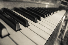 Piano. Keyboard Royalty Free Stock Images