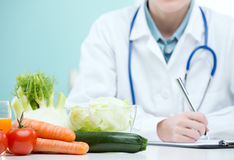 Piano di dieta Immagini Stock Libere da Diritti