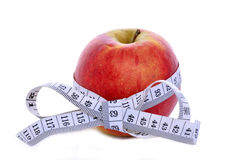 Piano di dieta per perdere peso Fotografia Stock Libera da Diritti