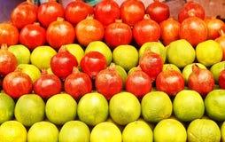 Piano di dieta sana: frutti Fotografia Stock Libera da Diritti