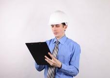 Piano di gestione per costruzione Immagine Stock Libera da Diritti
